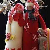 Куклы и игрушки ручной работы. Ярмарка Мастеров - ручная работа Новогодние неразлучники. Handmade.