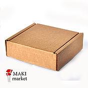 Материалы для творчества ручной работы. Ярмарка Мастеров - ручная работа Коробка 12,3х12,3х4,2см. Handmade.