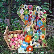 Для дома и интерьера ручной работы. Ярмарка Мастеров - ручная работа Ручное лоскутное одеяло Сама садик я садила. Handmade.