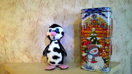 Игрушки животные, ручной работы. Ярмарка Мастеров - ручная работа. Купить Гвиня. Handmade. Пингвин, животные текстиль куклы