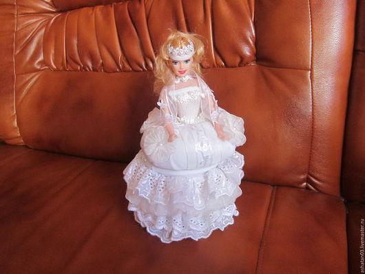 Кукольный дом ручной работы. Ярмарка Мастеров - ручная работа. Купить кукла-шкатулка. Handmade. Кукла-шкатулка, органза