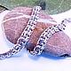 """Браслеты ручной работы. Ярмарка Мастеров - ручная работа. Купить Браслет из серебра """"Плетение Бисмарк"""". Handmade. Браслет на руку"""