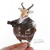 Для дома и интерьера handmade. Livemaster - original item Interior toy, souvenir Antelope Photographer. A gift to the photographer.. Handmade.