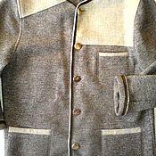 Винтаж ручной работы. Ярмарка Мастеров - ручная работа Кардиган / кофта, этно, Австрия, 100% шерсть. Handmade.