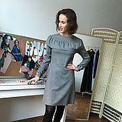 Одежда ручной работы. Ярмарка Мастеров - ручная работа Шерстяное платье. Handmade.