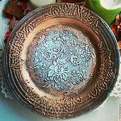Для дома и интерьера ручной работы. Ярмарка Мастеров - ручная работа Декоративная тарелка. Handmade.