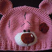 Работы для детей, ручной работы. Ярмарка Мастеров - ручная работа шапка Мишка Тедди для детей и взрослых. Handmade.