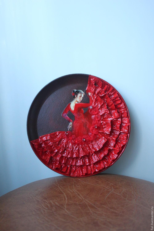 """""""Фламенко"""" тарелка, Plates, Moscow,  Фото №1"""