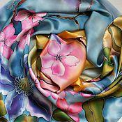 Платки из батика ручной работы