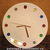 Для дома и интерьера ручной работы. Ярмарка Мастеров - ручная работа Настенные часы «ЛЕДЕНЦЫ». Handmade.