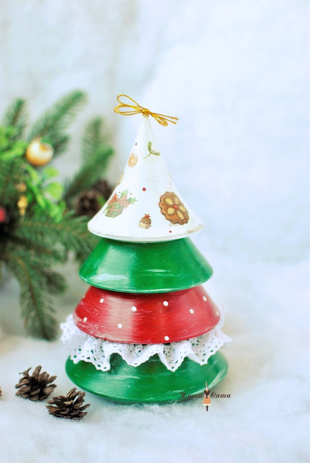 2019 handmade livemaster handmade buy big musical christmas tree tumbler