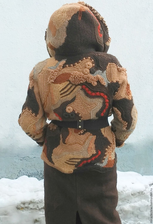 Вязаная зимняя одежда