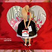 Куклы и игрушки ручной работы. Ярмарка Мастеров - ручная работа Портретная кукла-тильда. Handmade.