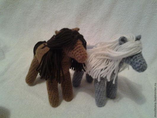 Игрушки животные, ручной работы. Ярмарка Мастеров - ручная работа. Купить лошадки лошандры:-). Handmade. Серый, оригинальное украшение