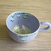 """Посуда ручной работы. Ярмарка Мастеров - ручная работа Кружка """"Мощнейшая визуализация"""". Handmade."""