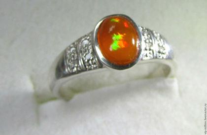 скидки, серебро 925 пробы, серебряное кольцо, опал эфиопский, новый год, рождественский подарок