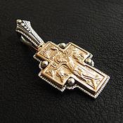 Украшения handmade. Livemaster - original item Silver Fedorovsky cross. Handmade.
