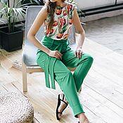 Одежда ручной работы. Ярмарка Мастеров - ручная работа Брючки Лето comfortable style. Handmade.