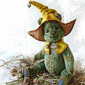 Куклы и игрушки ручной работы. Ярмарка Мастеров - ручная работа Мишка тедди Тони (гномик). Handmade.