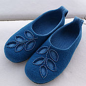 """Обувь ручной работы. Ярмарка Мастеров - ручная работа Тапочки """" Духи морского леса"""". Handmade."""