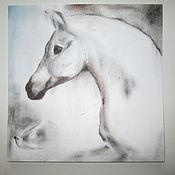 Картины и панно ручной работы. Ярмарка Мастеров - ручная работа Картина лошадь Всё сбудется. Handmade.