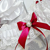Свадебный салон ручной работы. Ярмарка Мастеров - ручная работа Подвязка свадебная, подвязка для невесты. Handmade.