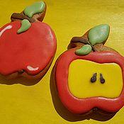 Пряники ручной работы. Ярмарка Мастеров - ручная работа Пряники:  Сочные яблочки. Handmade.
