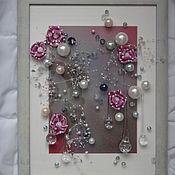 Картины и панно ручной работы. Ярмарка Мастеров - ручная работа Гламурный дождь. Handmade.