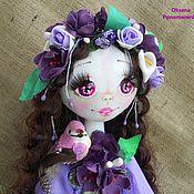 Куклы и игрушки ручной работы. Ярмарка Мастеров - ручная работа Виолетта шарнирная кукла. Handmade.