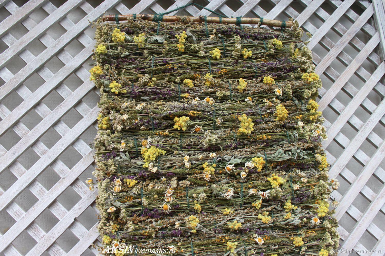 Мятно-полынный ароматный коврик из трав, Цветы, Котельники, Фото №1