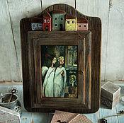 Для дома и интерьера handmade. Livemaster - original item The housekeeper of My keepers. The housekeeper decoupage. Handmade.