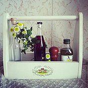 Для дома и интерьера ручной работы. Ярмарка Мастеров - ручная работа Многофункциональный ящик. Handmade.