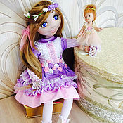 Куклы и игрушки ручной работы. Ярмарка Мастеров - ручная работа Шарнирная кукла Алиса. Handmade.