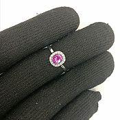 Украшения handmade. Livemaster - original item Ring with ruby (not heated) gold 750. Handmade.