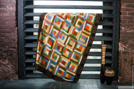 Текстиль, ковры ручной работы. Ярмарка Мастеров - ручная работа. Купить плед Morocco Style. Handmade. Пэчворк, интерьер спальни