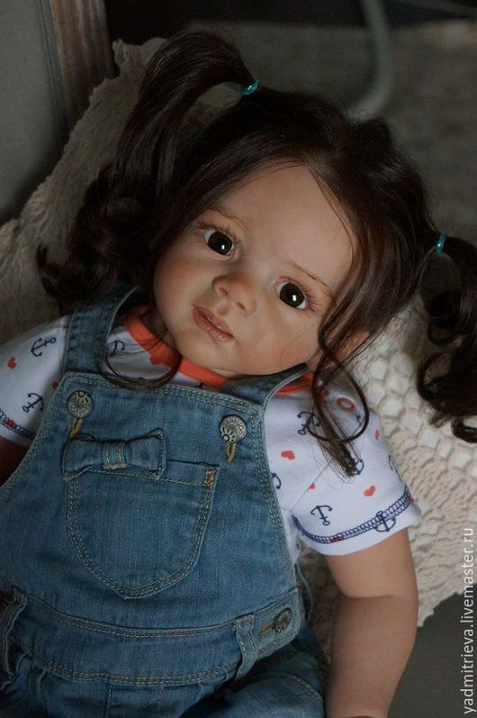 Куклы-младенцы и reborn ручной работы. Ярмарка Мастеров - ручная работа. Купить Кукла реборн Амели3. Handmade. Куклы реборн