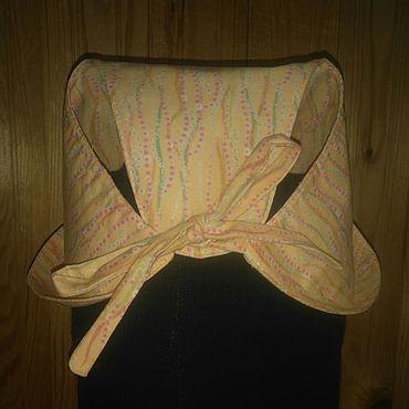 Товары для малышей ручной работы. Ярмарка Мастеров - ручная работа Панама - распашенка для девочки. Handmade.