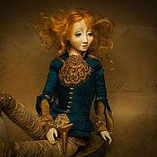 Куклы и игрушки ручной работы. Ярмарка Мастеров - ручная работа Алкиона(Зимородок). Авторская кукла ручной работы.. Handmade.