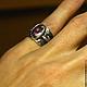 """Кольца ручной работы. Кольцо """"Iris"""" с огненным агатом. Mukha Jewellery (DragonStone). Ярмарка Мастеров. Опал эфиопский, золотое кольцо"""