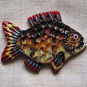 Для дома и интерьера ручной работы. Ярмарка Мастеров - ручная работа Рыбка м.. Handmade.