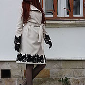 """Одежда ручной работы. Ярмарка Мастеров - ручная работа Пальто""""Модная Наталья"""". Handmade."""