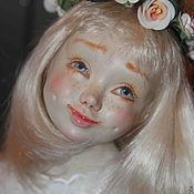 """Куклы и пупсы ручной работы. Ярмарка Мастеров - ручная работа Авторская фарфоровая кукла """"Ангел"""". Handmade."""