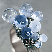 Rings handmade. Livemaster - original item Ring In anticipation of the ice. Handmade.
