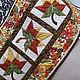 """Текстиль, ковры ручной работы. Салфетка """"Листопад"""". Текстильные подарки.Лоскутное шитье (magic-quilt). Интернет-магазин Ярмарка Мастеров."""