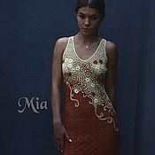 """Одежда ручной работы. Ярмарка Мастеров - ручная работа платье """"Корица и ваниль-2"""". Handmade."""