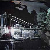 """Картины и панно ручной работы. Ярмарка Мастеров - ручная работа Картина """"Бруклин"""". Handmade."""