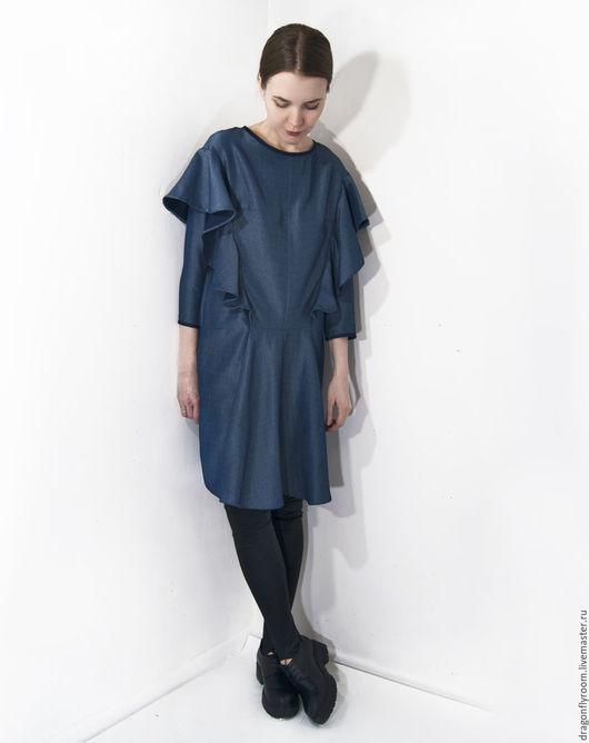 Платья ручной работы. Ярмарка Мастеров - ручная работа. Купить платье Облако. Handmade. Однотонный, единственный экземпляр, полиэстер