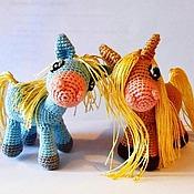 Куклы и игрушки ручной работы. Ярмарка Мастеров - ручная работа Игрушка Лошадка. Handmade.