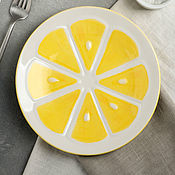 Plates handmade. Livemaster - original item Plate