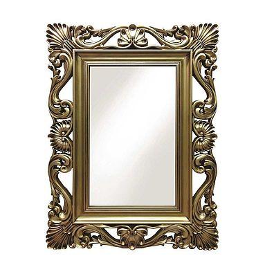 Для дома и интерьера ручной работы. Ярмарка Мастеров - ручная работа Зеркало в винтажной золотой раме. Handmade.